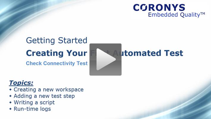 Coronys Tutorial - Videos,Basics,Examples